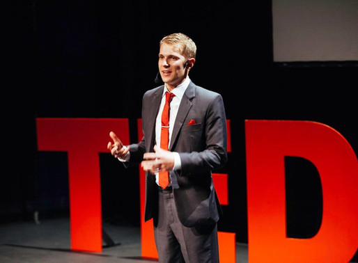 Tedx Talks, arrows and Edinburgh with Wedding Magician of the Year Chris Cook