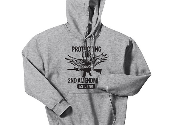 Protect Our 2nd Amendment (Front) - Flag and 2A (Back)
