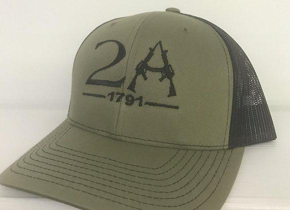2nd Amendment 1791 Baseball Cap