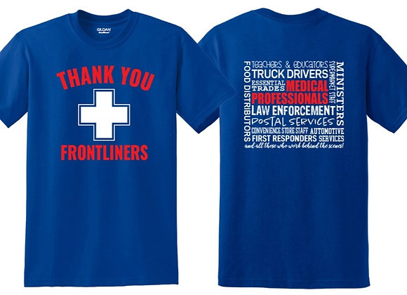 Thank You Frontliners T-shirt - $5 to the American Red Cross
