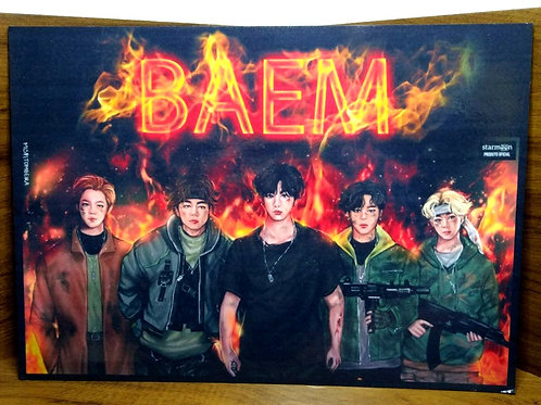 Placa Personalizada Baem