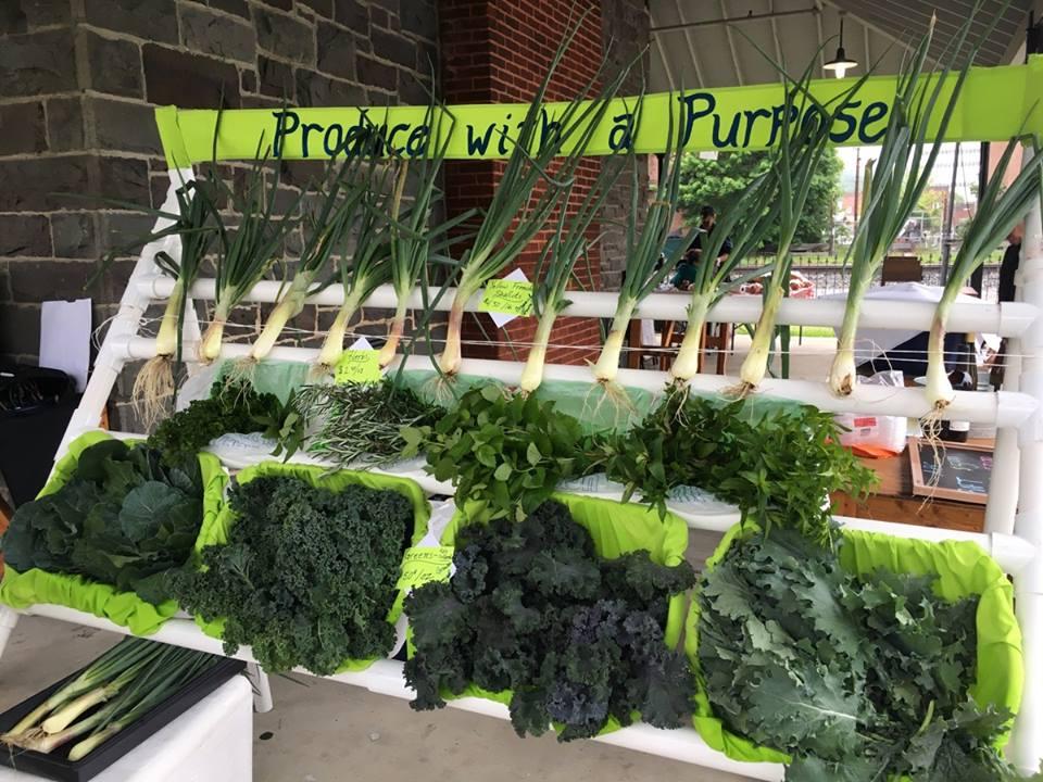 Pulaski Grow's Produce Stand