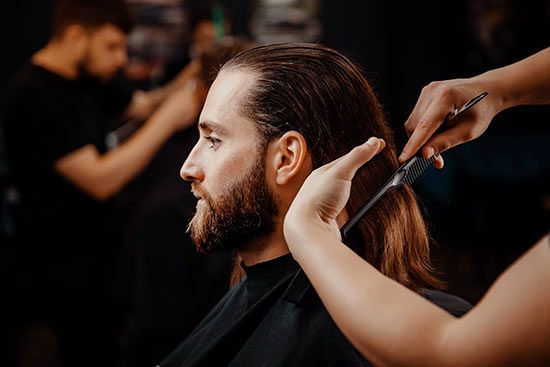 LONG HAIR CUT & BLOW OUT