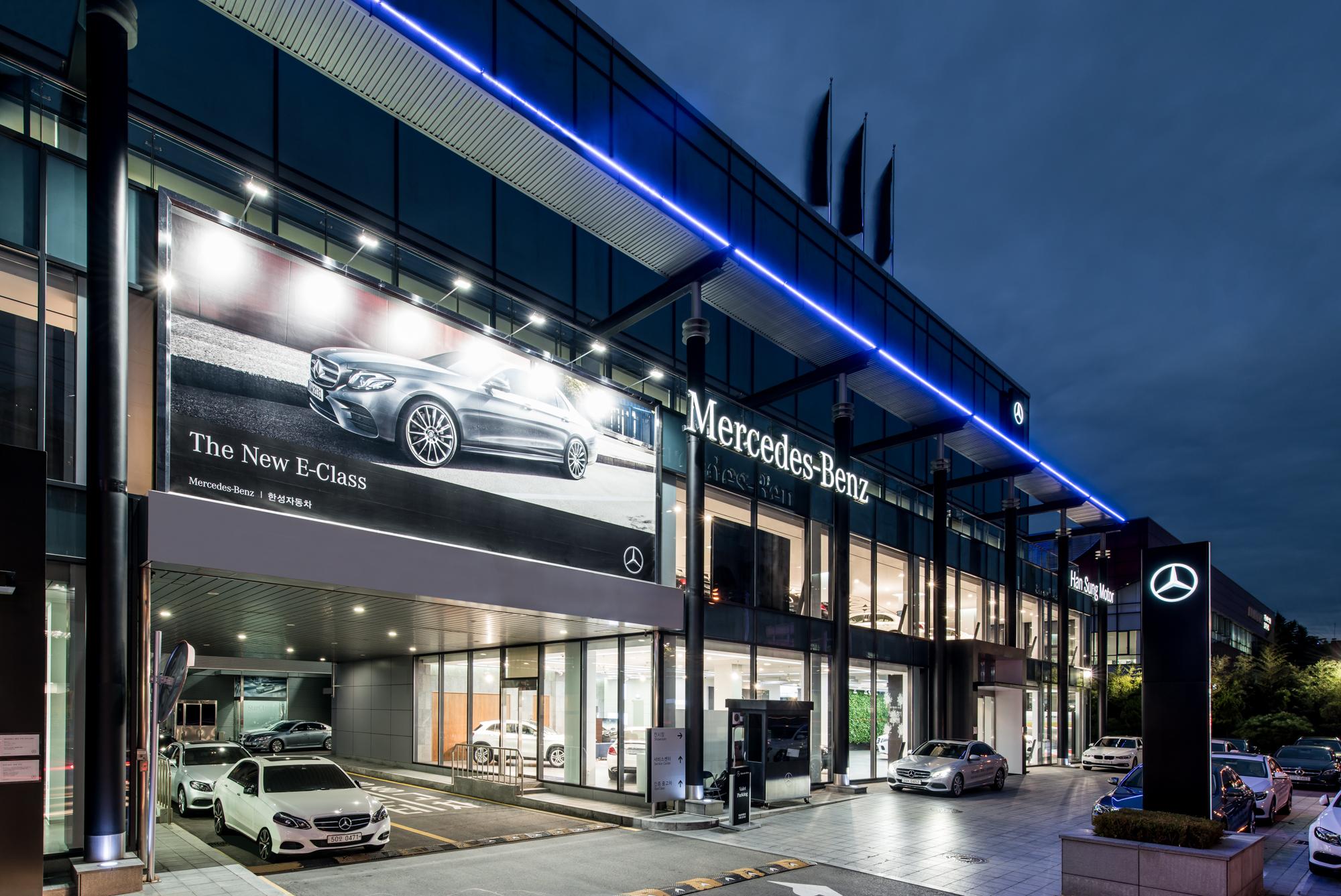 Mercedes Benz, Han Sung Motor
