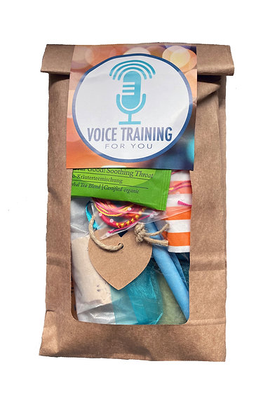 "Stimm-Wunder-Tüte ""Voicetraining for You"""