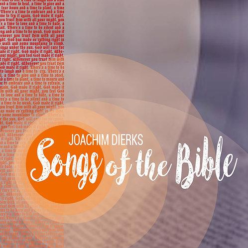 """CD: Joachim Dierks """"Songs of the Bible"""""""