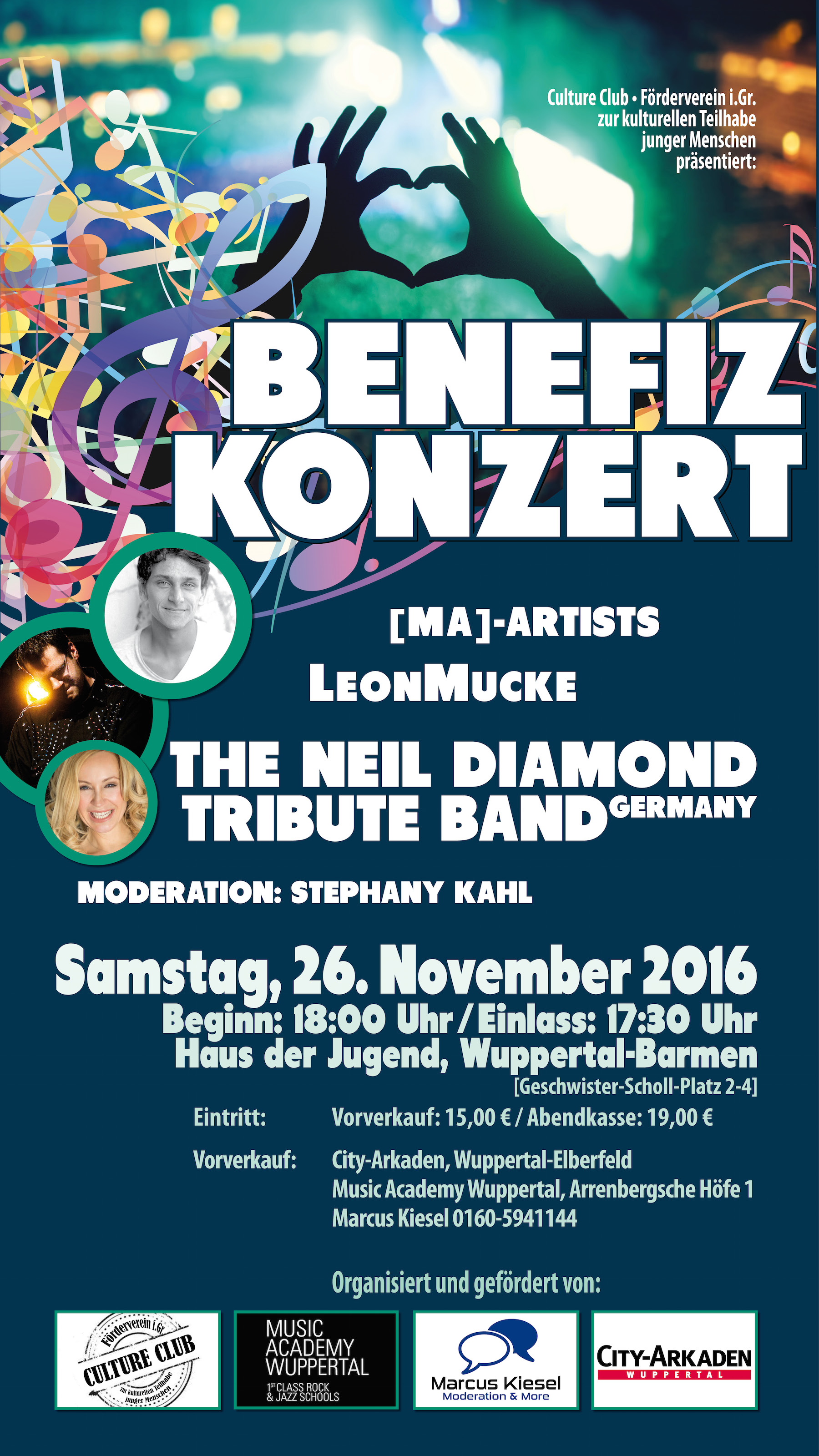 Benefiz KonzertFlyer-Digital