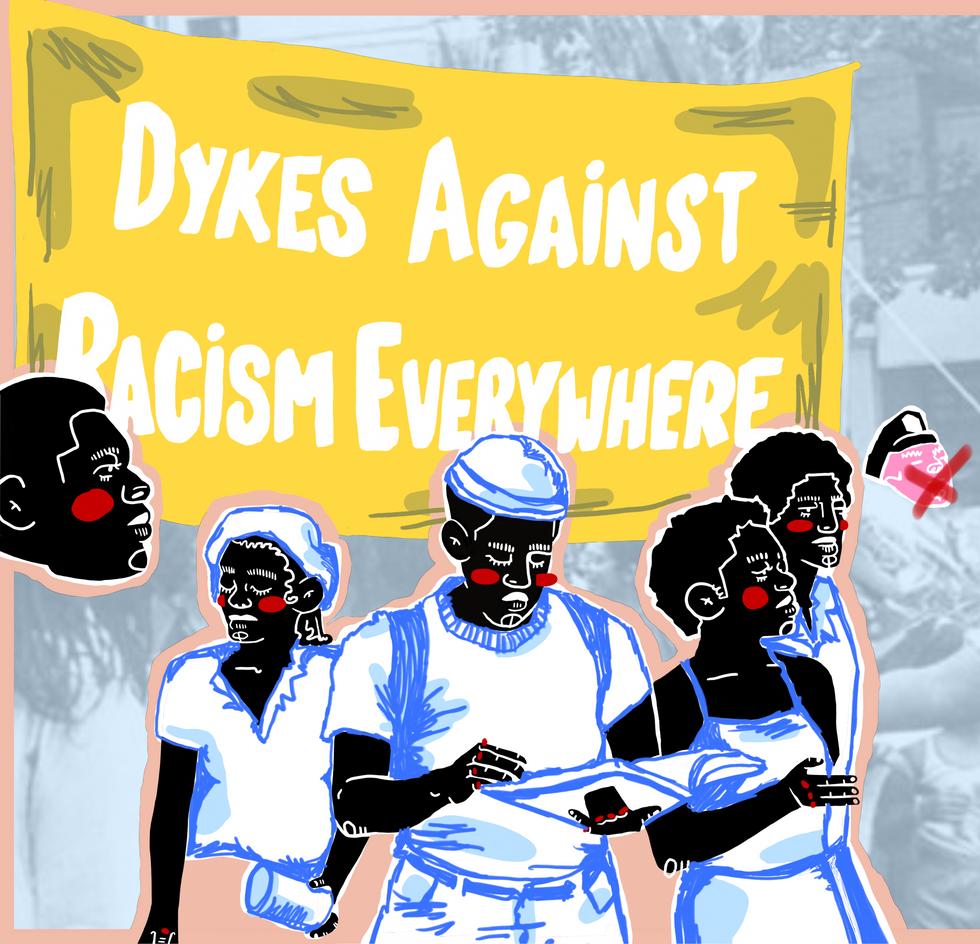 dykes against racism everywhere (d.a.r.e.)
