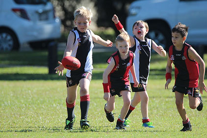 Victoria Point Sharks Junior AFL helps kids in the Redlands play AFL. Australian Football Club for local kids. Come play AFL. Kids have a blast. Get your child involved involved in Australia's greatest game. Children love the sport of Aussie Rules.