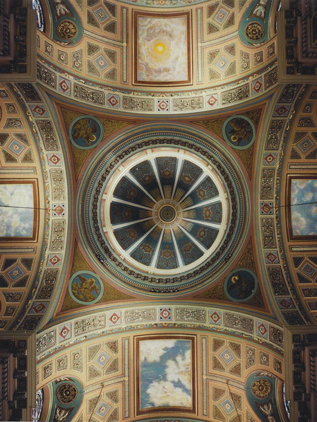 ST JEAN BAPTISTE - DOME AND TRANSEPT NEW