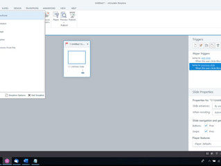 Importing PowerPoint Projects in Articulate Storyline 360
