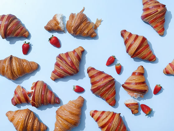 Strawberry Croissants