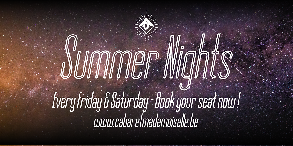 [SOLD OUT] - Summer Nights - 20/08