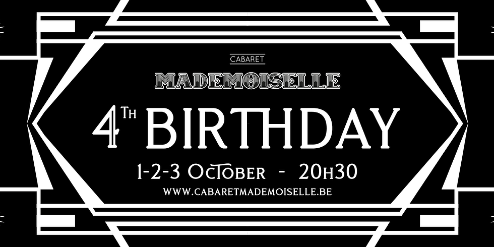 [SOLD OUT] - 4th Birthday - 01/10