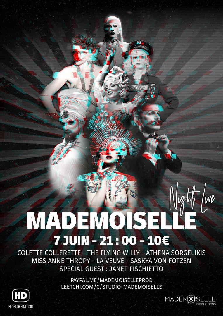 Mademoiselle Night Live
