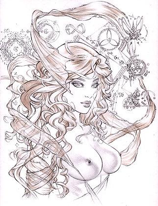 Eric: Art of Ancient Dreams sketch