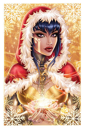 REM8 Holiday Print - Gold