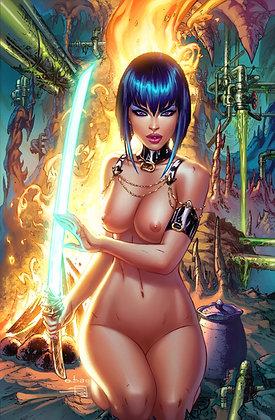 REM8 #4 - Nude PRINT