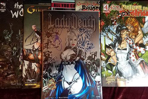 Lady Death Metal edition COMIC