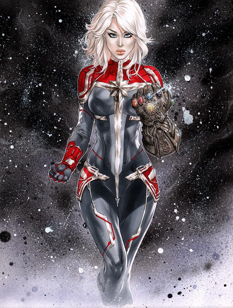 Captain Marvel Infinity Gauntlet LoRes e