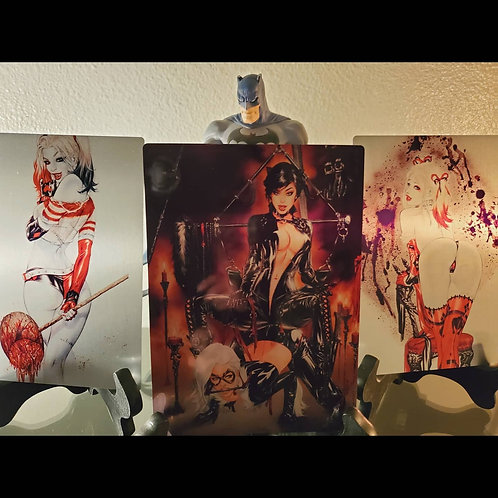 Gotham Sirens Metal Print SET of 3 (5x7)