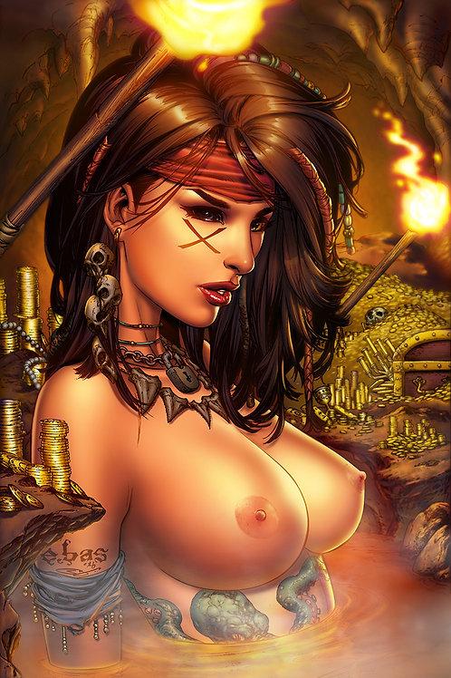 MOJO #3 Topless PRINT