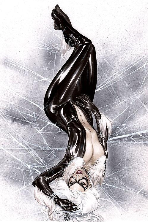 Black Cat Unzipped (11x17 print)