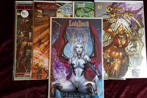 Lady Death e.Bas Premium edition COMIC