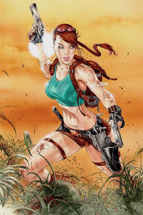 Tomb Raider (11x17 print)