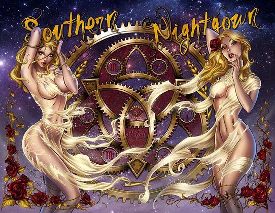 Southern Nightgown Print - D & C PRINT