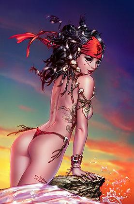Mojo #4 LTD 10 Virgin Cover  COMIC