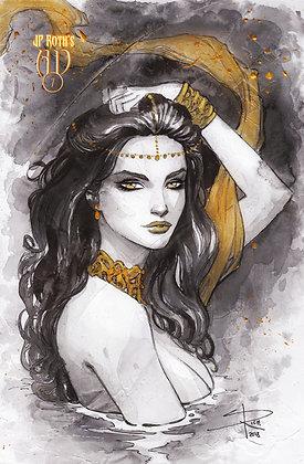Ancient Dreams#7 Cara Black and gold LTD 50
