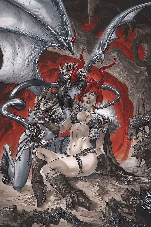 Red Sonja 11x17 PRINT