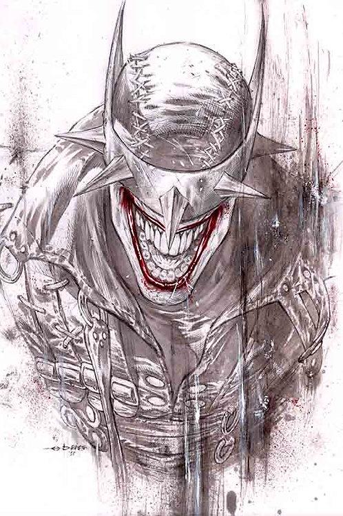 Batman Who Laughs (11x17 print)