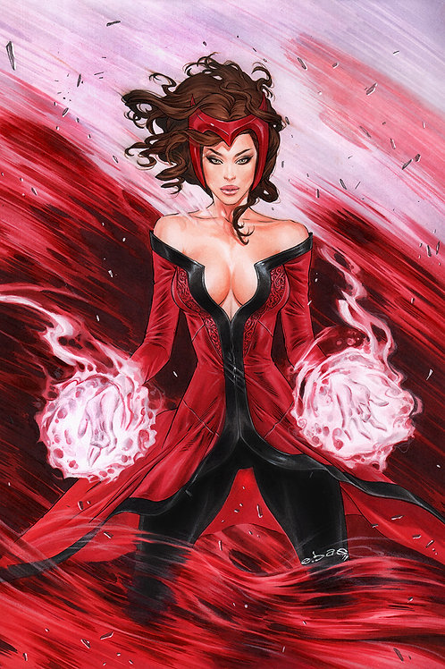 Scarlet Power (11x17 print)