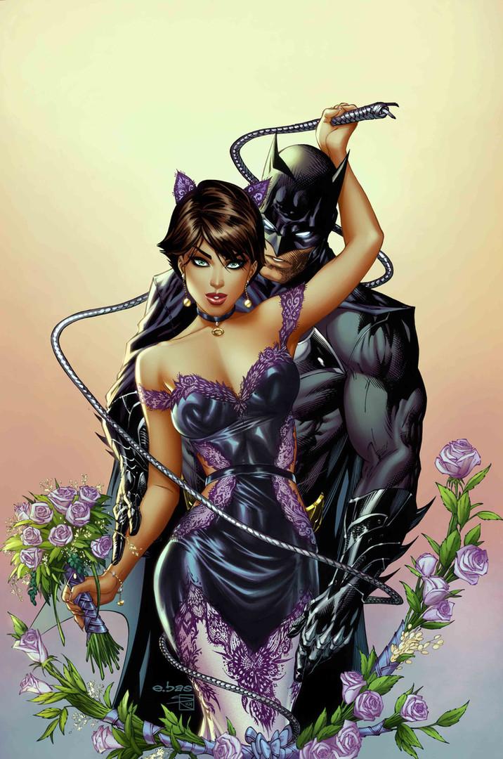Batman Cat Woman Wedding