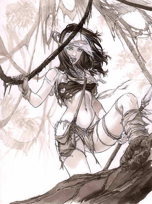 Savage Land Rogue PRINT