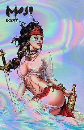 MOJO booty Issue 1 Morgana CHROME COMIC