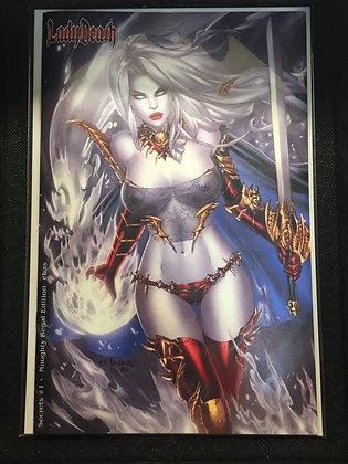 Lady Death Naughty Regal Edition #1