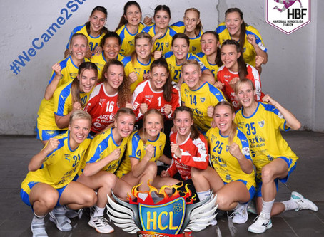 HC Leipzig vs. TVB Wuppertal - 1. Heimsieg 33:27