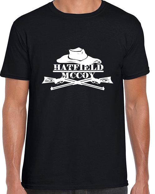 Hatfield & McCoy New Logo T-shirt BLACK