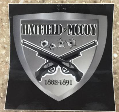 Hatfield & McCoy Bumper Sticker