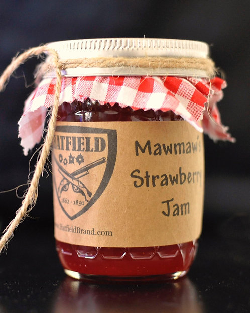Hatfield & McCoy Homemade Strawberry Jam