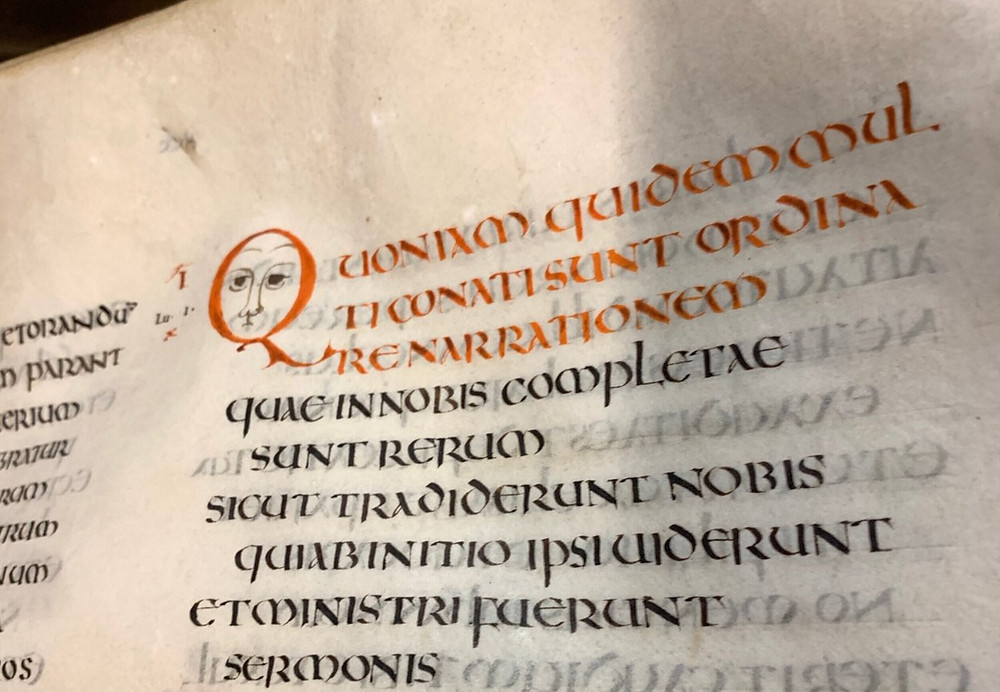 HOW THE OLDEST SURVIVING LATIN BIBLE WAS SCRIBED IN ENGLAND