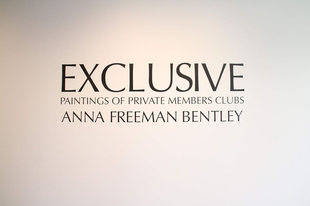 ANNA FREEMAN BENTLEY EXHIBITION OPENING AND CONCERT