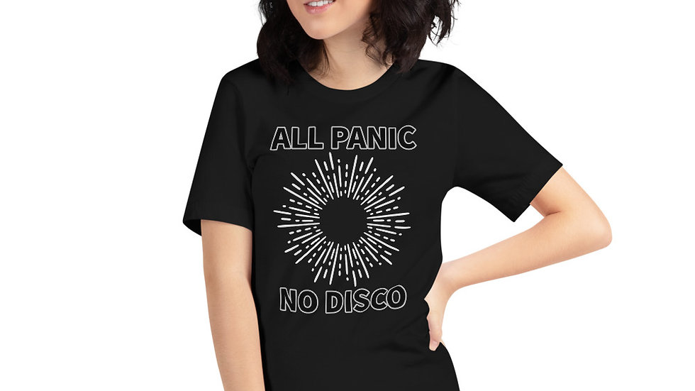 Panic Short-Sleeve Unisex T-Shirt