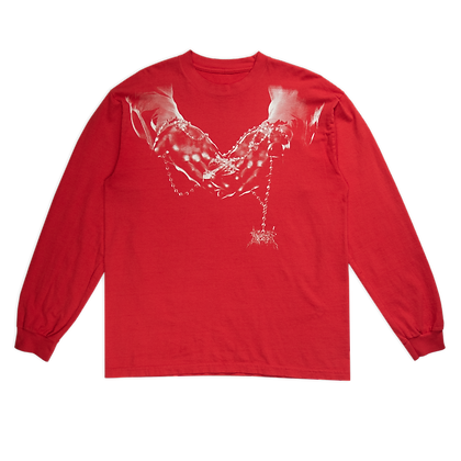 ROSARY LONGSLEEVE (RED)