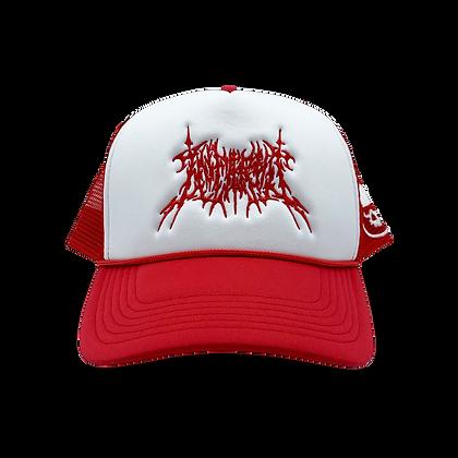 TRUCKER HAT (RED)