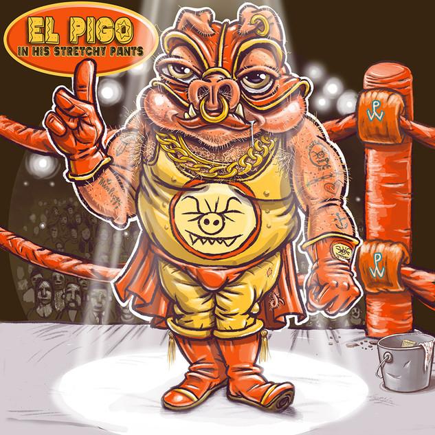 El Pigo In His Stretchy Pants