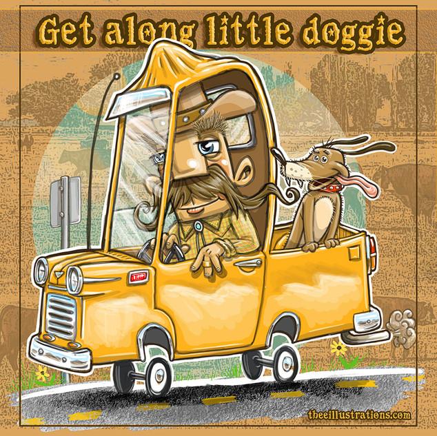 Get Along Little Doggie